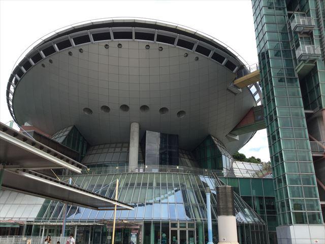 大阪府立大型児童館「ビッグバン」入口付近