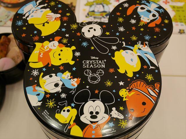 ディズニーおせち2017「ミッキー三段重」(クリスタルシーズン)お重箱