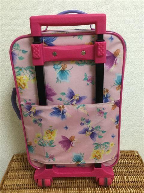 フェフェ(fafa)のキャリーバッグ、ピンクフェアリー、持ち手