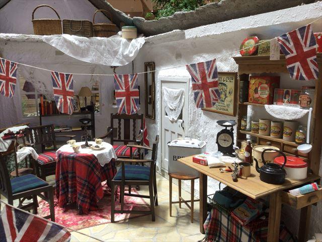 阪急百貨店うめだ本店「英国フェア2016」祝祭広場の展示