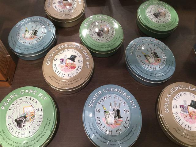 阪急百貨店うめだ本店「英国フェア2016」靴磨きクリームポリッシュ