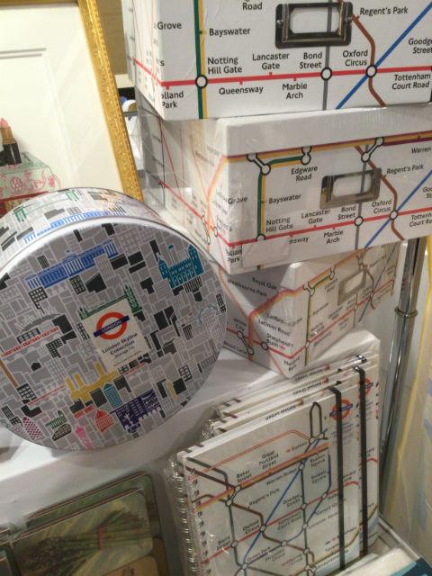 阪急百貨店うめだ本店「英国フェア2016」地下鉄UnderGroundの入れ物