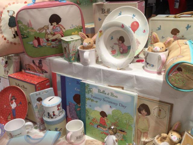 阪急百貨店うめだ本店「英国フェア2016」Belle&Boo(ベルとブゥ)グッズ