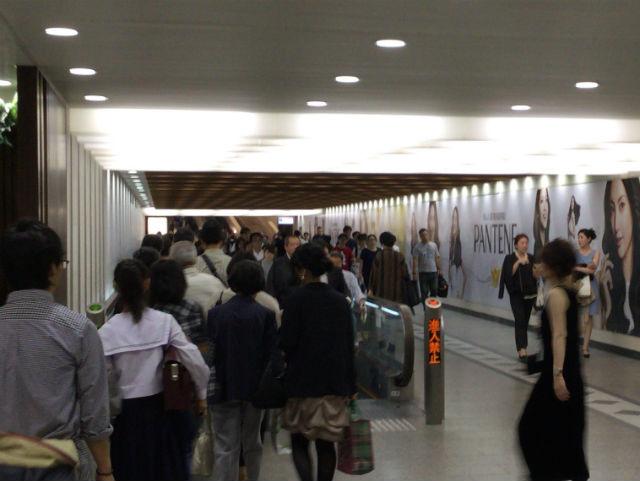 阪急百貨店の「ムービングウォーク」