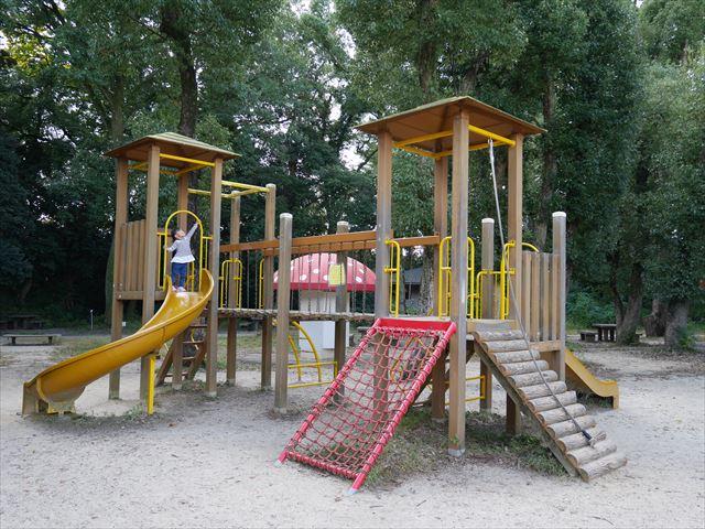 京都府立植物園「未来くん広場」の遊具公園