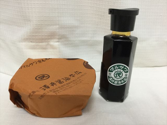 澤井醤油本店「京都まるさわ」もろみ、醤油