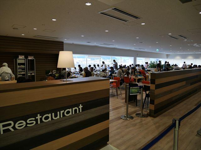 「京都鉄道博物館」レストラン入口付近