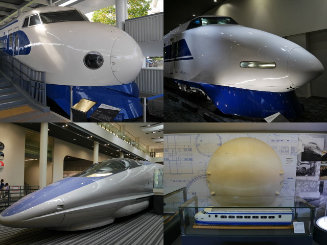 京都鉄道博物館、0系、100系、500系新幹線