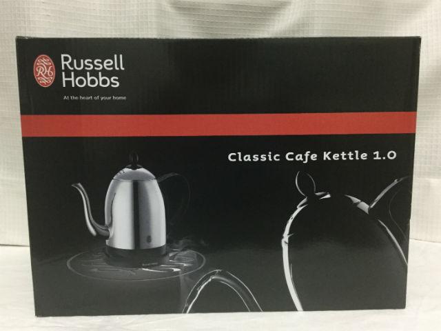 ラッセルホブス「クラシックカフェケトル1.0(7410JP)」外箱