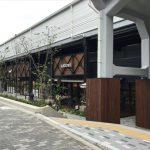 JR桃谷駅高架下の商業施設「ビエラ桃谷」