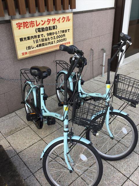 榛原駅のレンタル自転車