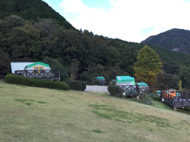平成榛原子供のもり公園「キャンプデッキ」