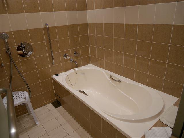 京都ブライトンホテル「ルームen(えん)」シャワー&バスルーム
