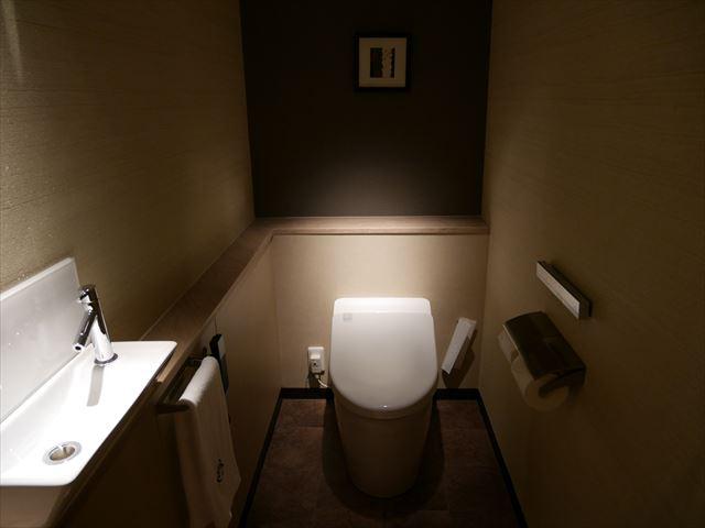 京都ブライトンホテル「ルームen(えん)」トイレ