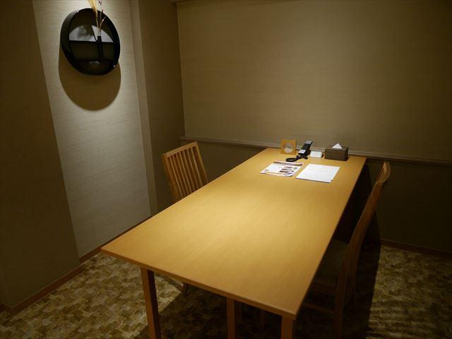 京都ブライトンホテル「ルームen(えん)」独立したリビングルーム
