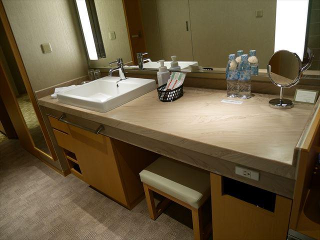京都ブライトンホテル「ルームen(えん)」洗面台