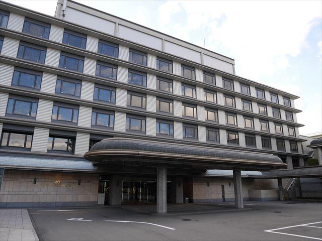 「京都ブライトンホテル」入口