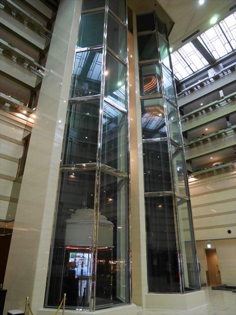 京都ブライトンホテルのエレベーター