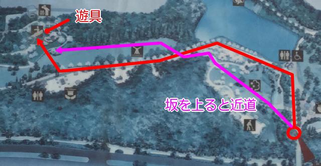 「千里中央公園」マップ