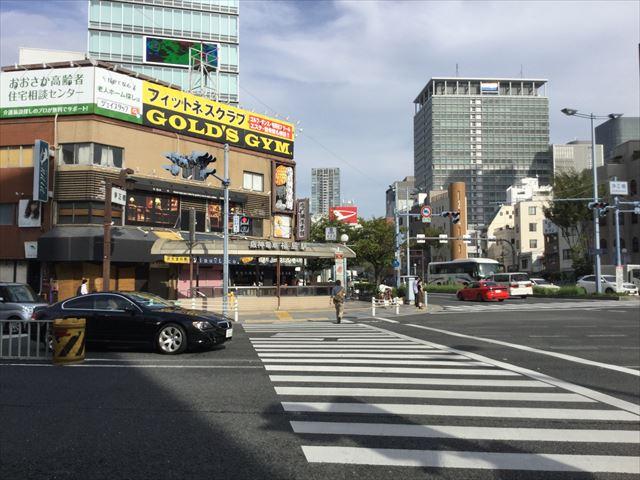 阪神電車「福島駅」2番出口