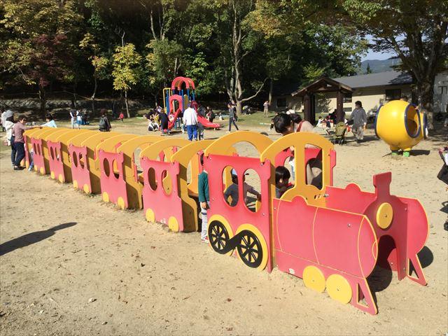宝が池公園「子どもの楽園」汽車