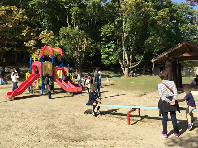 宝が池公園「子どもの楽園」複合遊具