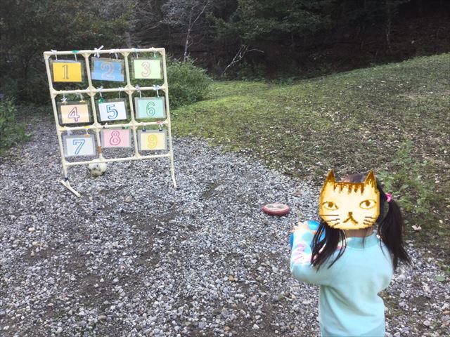 宝が池公園「子どもの楽園」プレイパークゾーン、ボール遊び