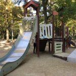 靫公園の遊具、滑り台