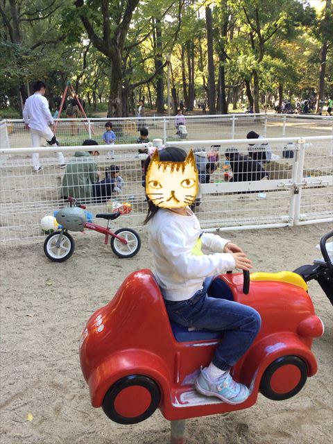 靫公園の遊具、乗り物