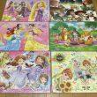 ディズニーのジグソーパズル6種類、ソフィア、ラプンツェル、ミッキー、アナ雪、プーさん
