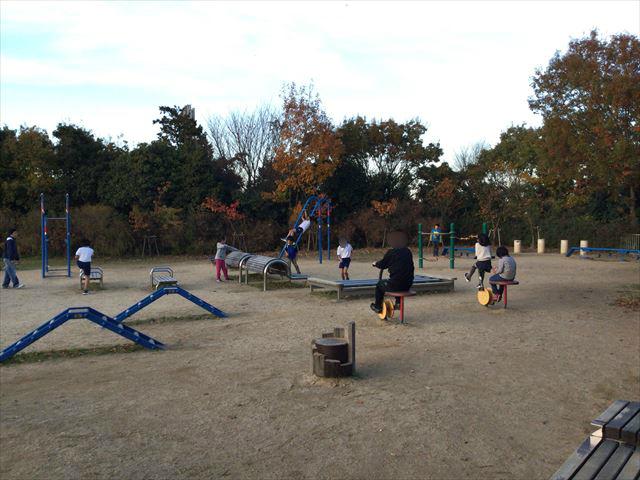 神戸総合運動公園「冒険のくに」トリムコーナー