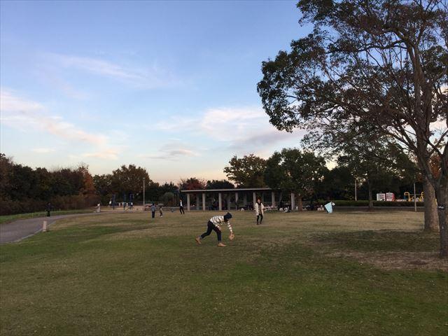 神戸総合運動公園「冒険のくに」芝生広場