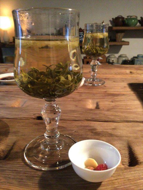 中国茶とおつまみ