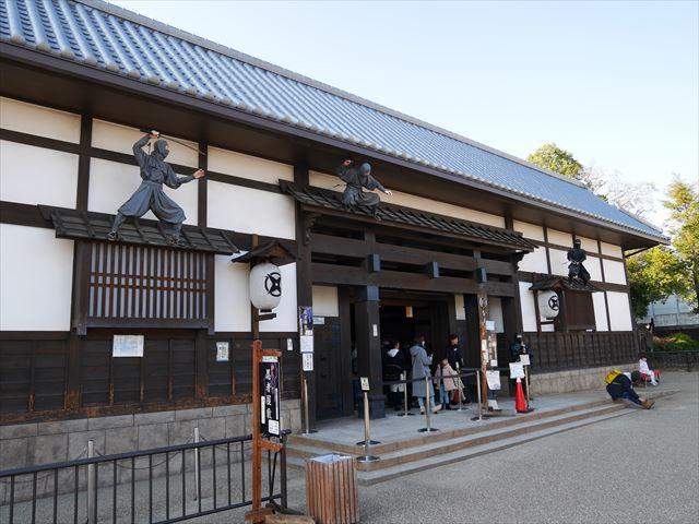 「東映太秦映画村」からくり忍者屋敷