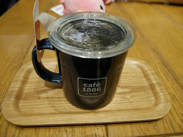 渋谷「カフェ1886ボッシュ」ダージリン、ビオオーガニック