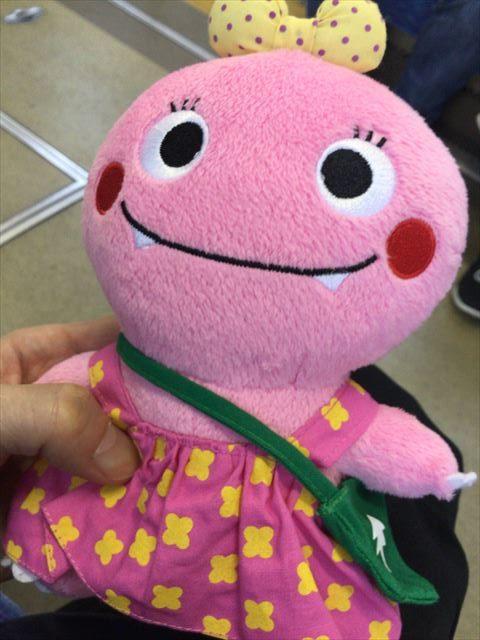 NHKスタジオパークの見学で購入したガンコちゃんのぬいぐるみ