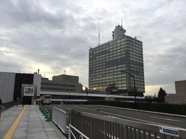 NHKスタジオパーク入口