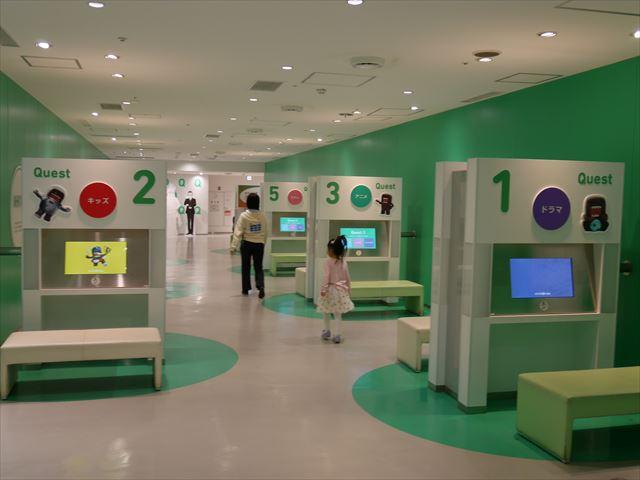 NHKスタジオパーク見学、NHKクエスト