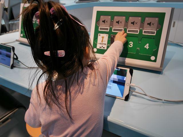 NHKスタジオパーク見学、クリエイティブラボで音と映像を編集