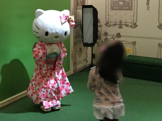 サンリオピューロランド「レディキティハウス」キティちゃんとご対面