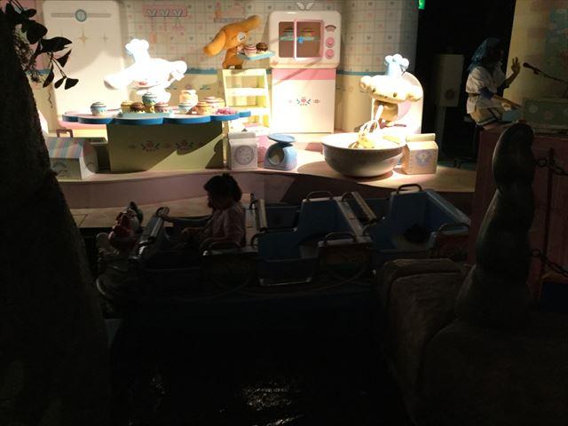 サンリオピューロランド「サンリオキャラクターボートライド」ボートとアトラクション