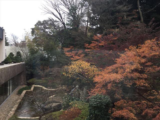 「シェラトン都ホテル東京」庭園