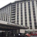 「シェラトン都ホテル東京」入口
