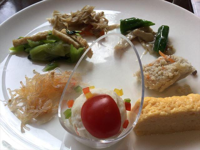 「シェラトン都ホテル東京」朝食ビュッフェ