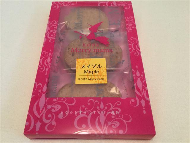 神戸モリーママのラスク(メイプル味)パッケージ