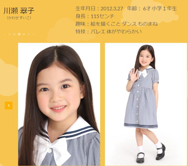2019年度クックルンメンバー、川瀬翠子(スマイルモンキー所属)