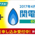 eo割「eo電気+関電ガス」を組み合わせたセット割