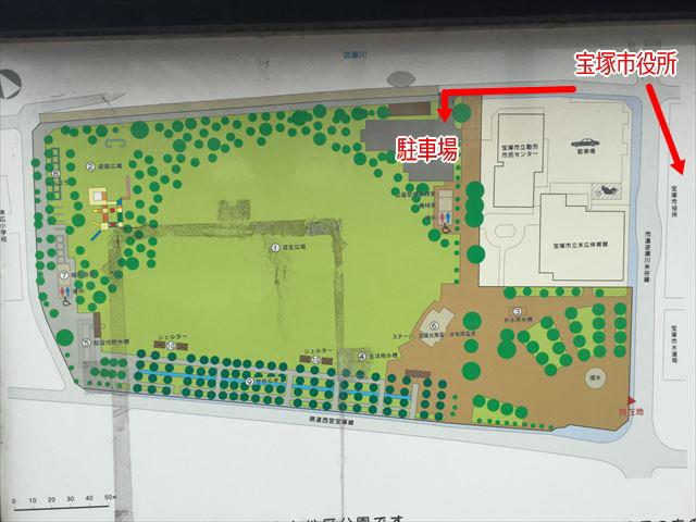 「末広中央公園」公園マップ