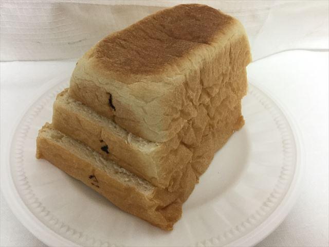 Pain de Singe(パンドサンジュ)の跳び箱パンを切って並べてみた、1~3段目目