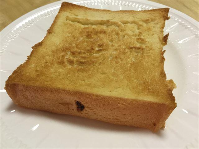 Pain de Singe(パンドサンジュ)の跳び箱パンをトーストした